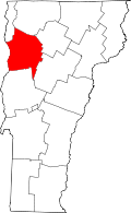 Chittenden County Vermont Home Heating Oil Delivery Area